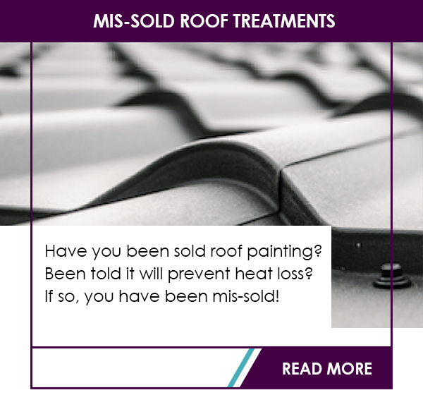 Mis-sold roof treatments