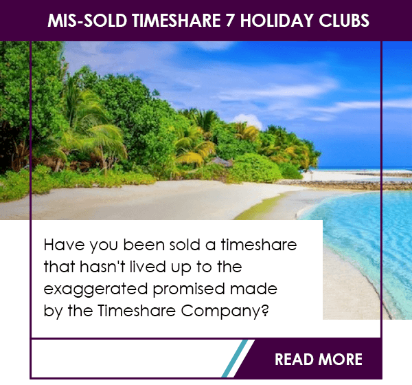 Mis-sold timeshares